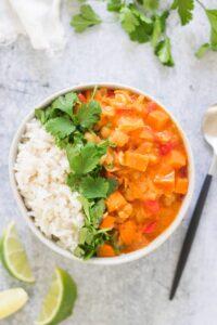 Easy Vegan Sweet Potato Curry Recipe