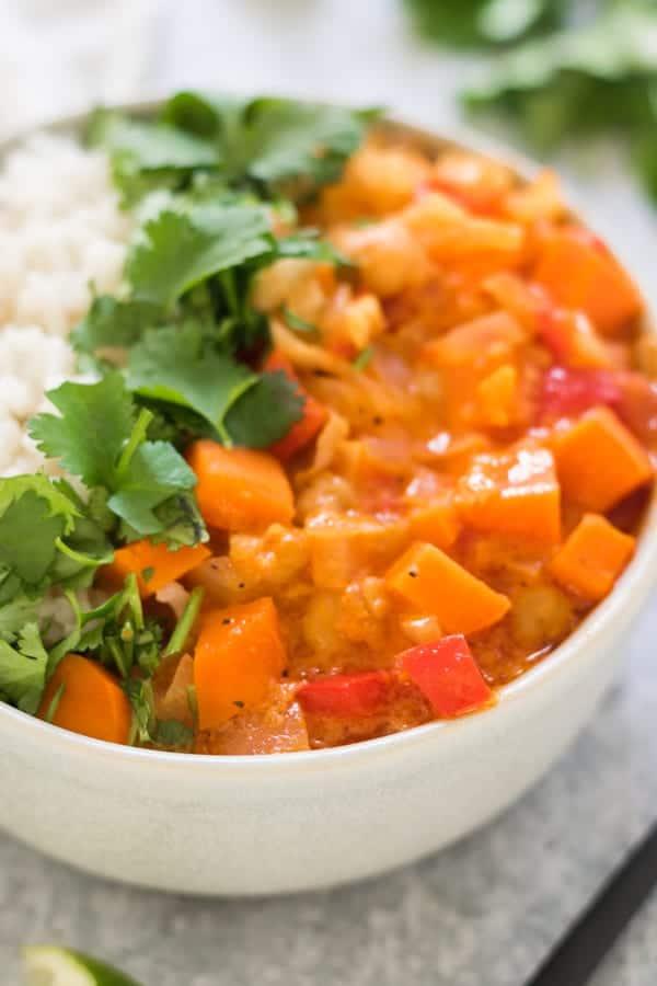 Easy Vegan Sweet Potato Curry