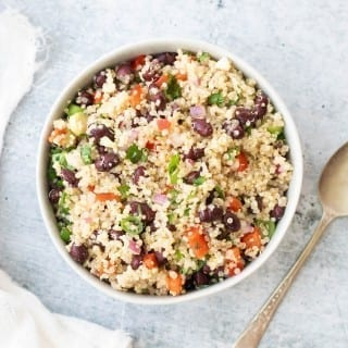 Easy Vegan Mexican Quinoa Salad