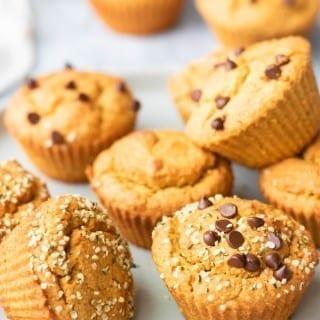 Vegan Gluten-Free Sweet Potato Muffins