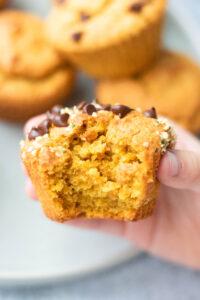 Vegan Gluten Free Blender Sweet Potato Muffins