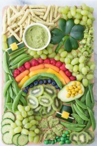 St. Patrick's Day Snack Board