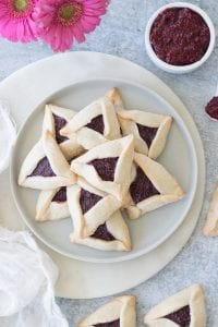 Vegan and Gluten-Free Hamantaschen