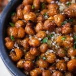 Sweet & Spiced Roasted Chickpeas