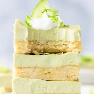 Gluten-Free and Vegan Key Lime Pie Bars