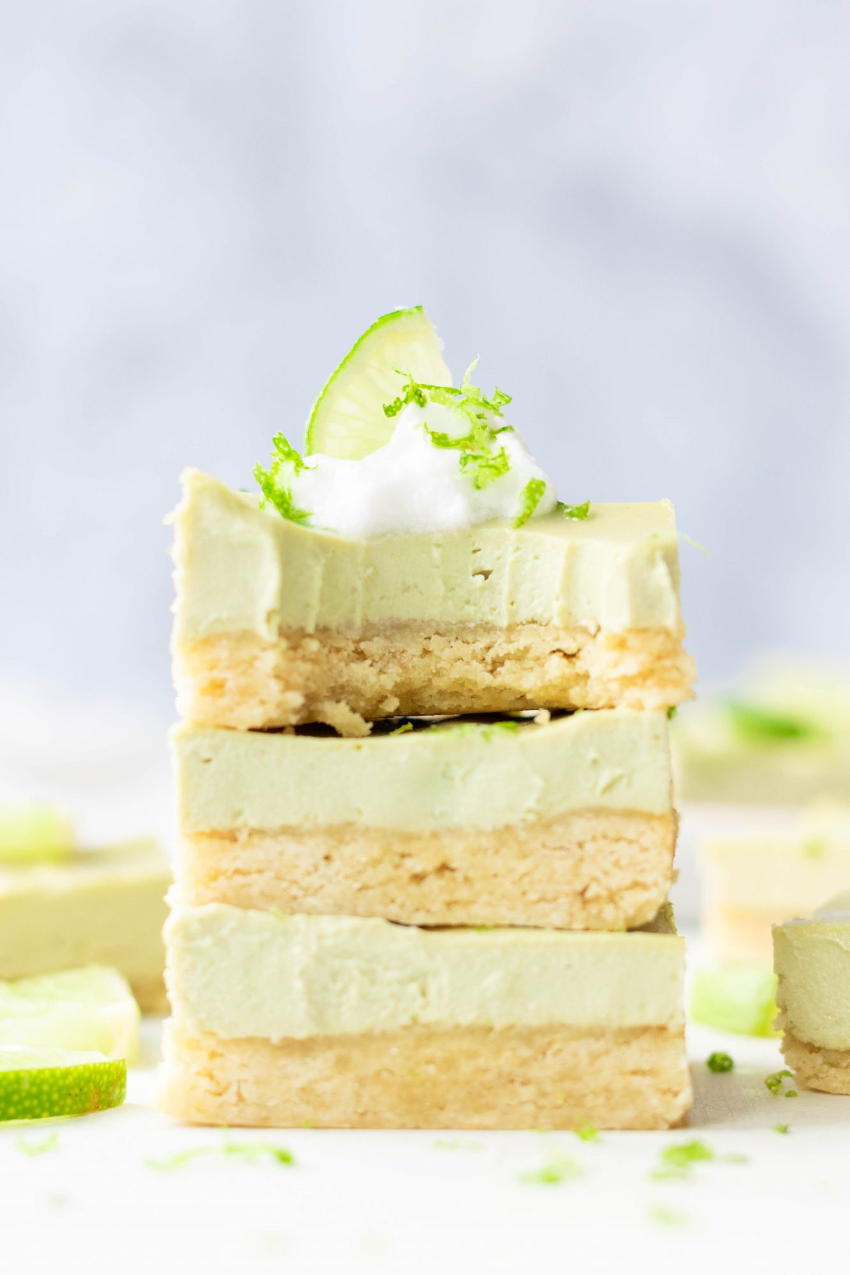Paleo Vegan Key Lime Pie Bars