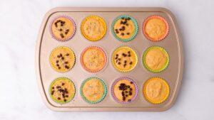 Sweet Potato Muffins in Muffin Tin