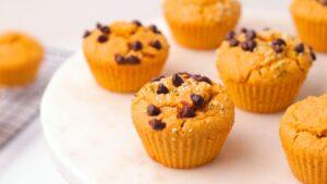 Easy Vegan Blender Sweet Potato Muffins Vegan