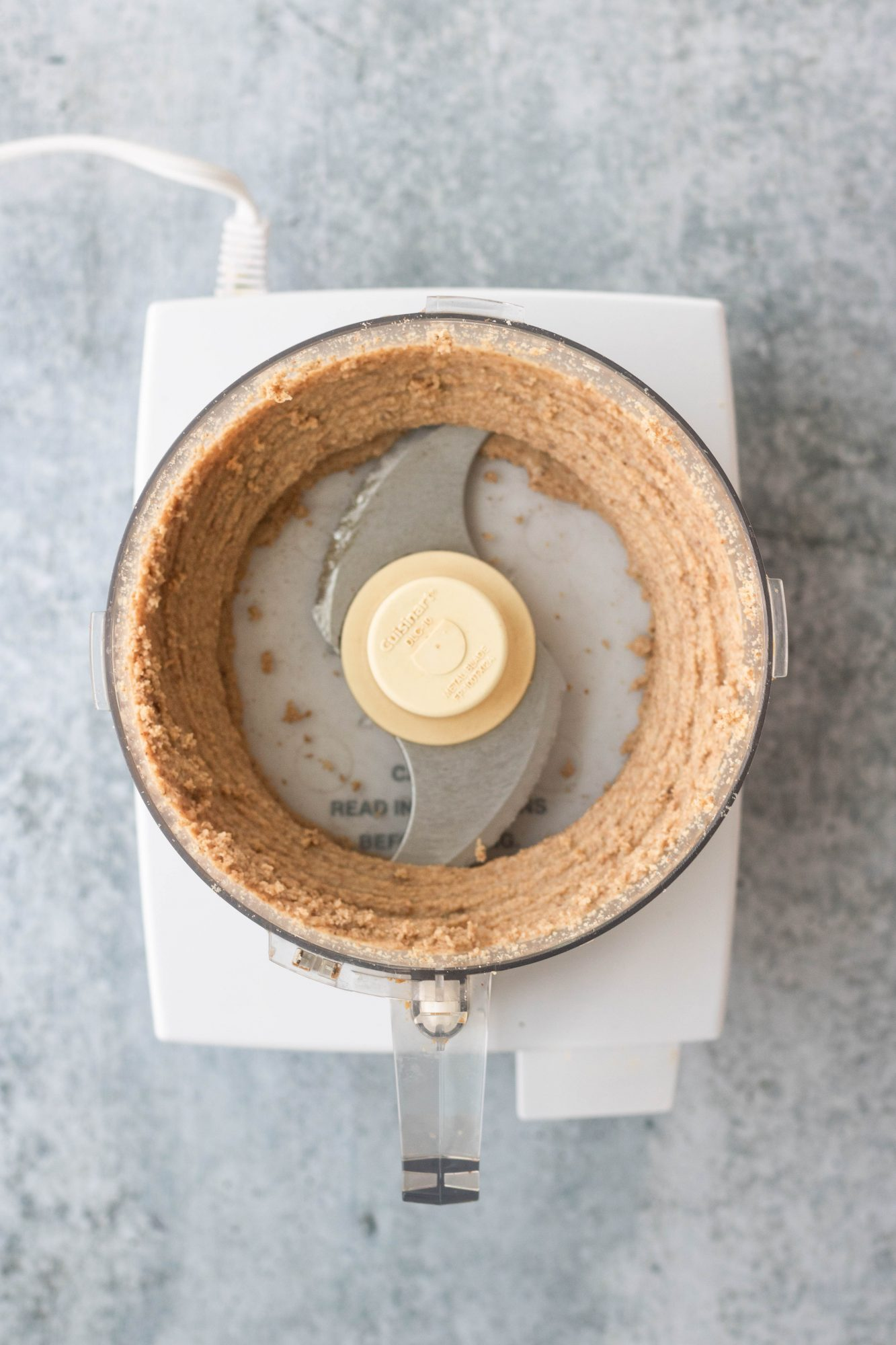 Making Homemade Almond Butter in Food Processor