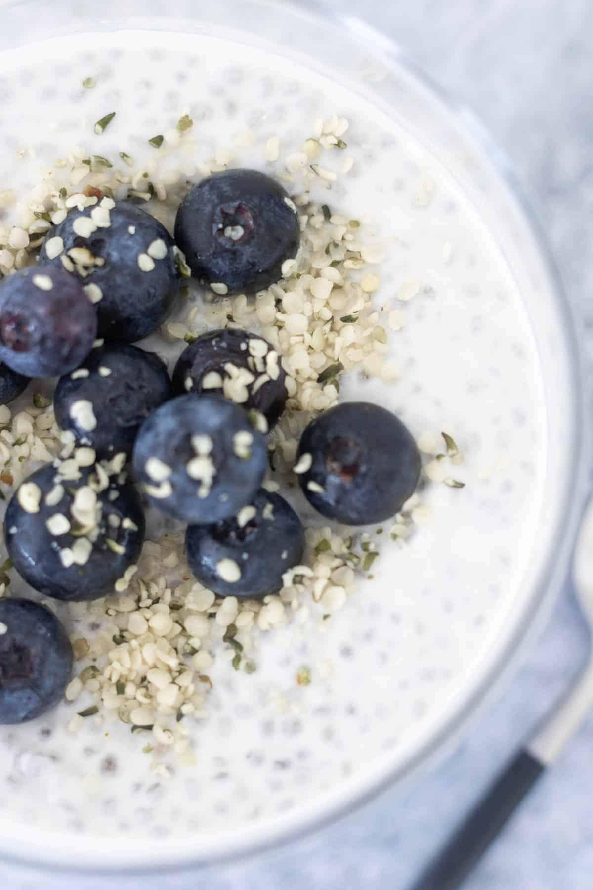 Creamy Vegan Chia Seed Pudding