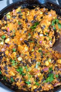 Vegan Enchilada Stuffing for Bell Peppers