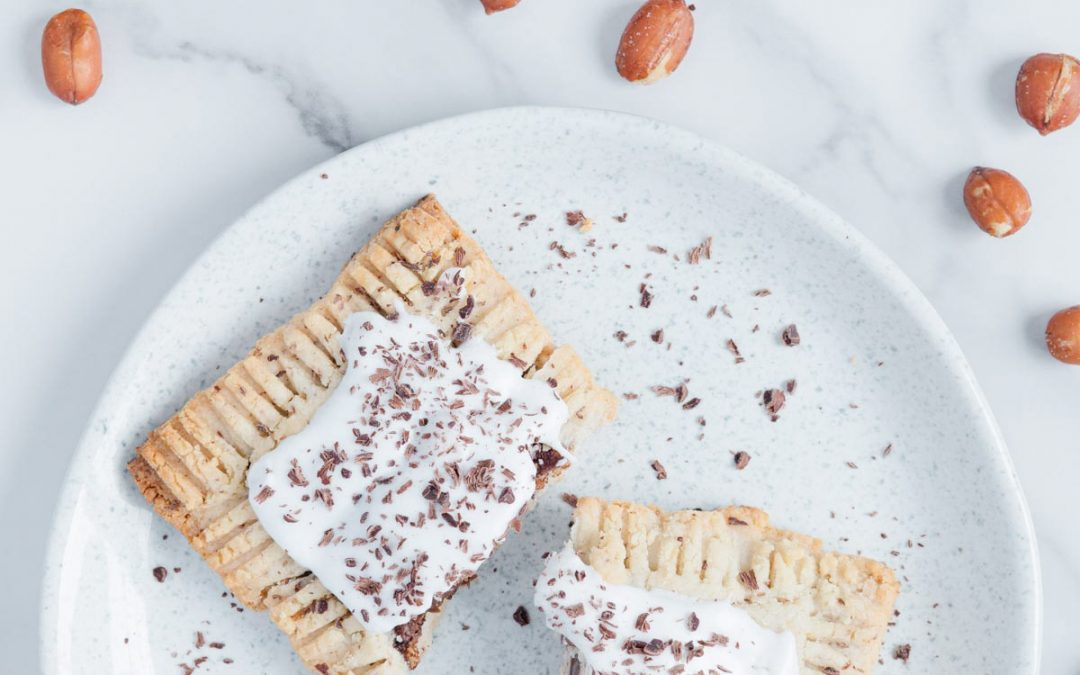 Vegan Toaster Pastries (gluten-free, paleo, refined sugar-free)