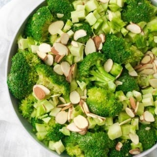 Easy Vegan Broccoli Salad Recipe
