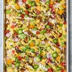 Sheet Pan Vegan Nachos