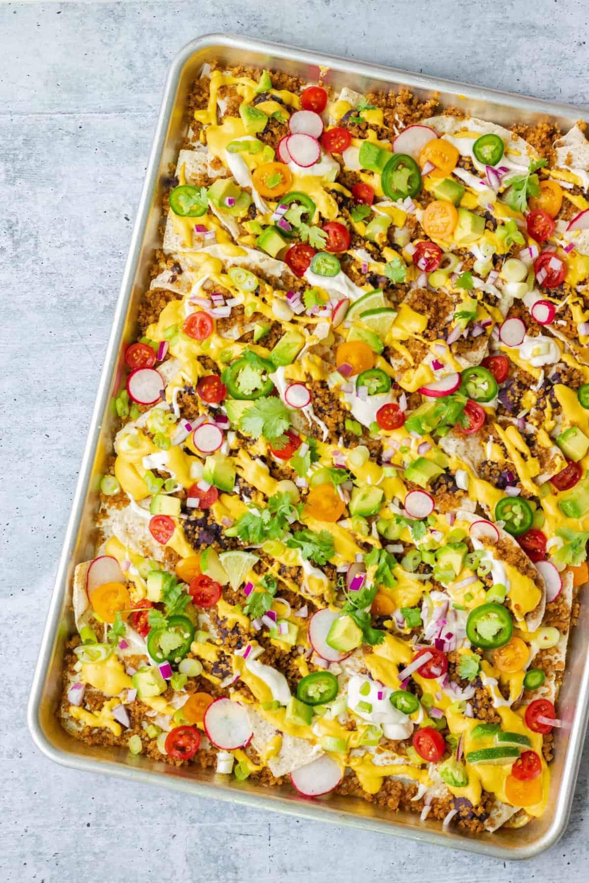Vegan Nachos Recipe