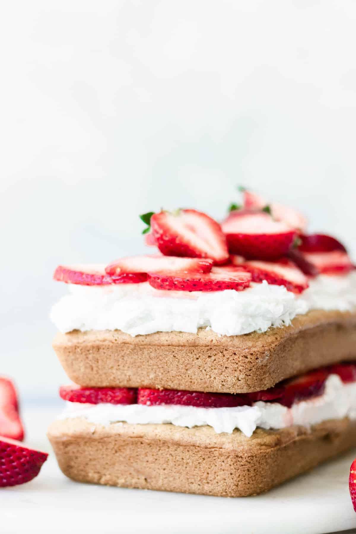 Easy Healthy Strawberry Shortcake