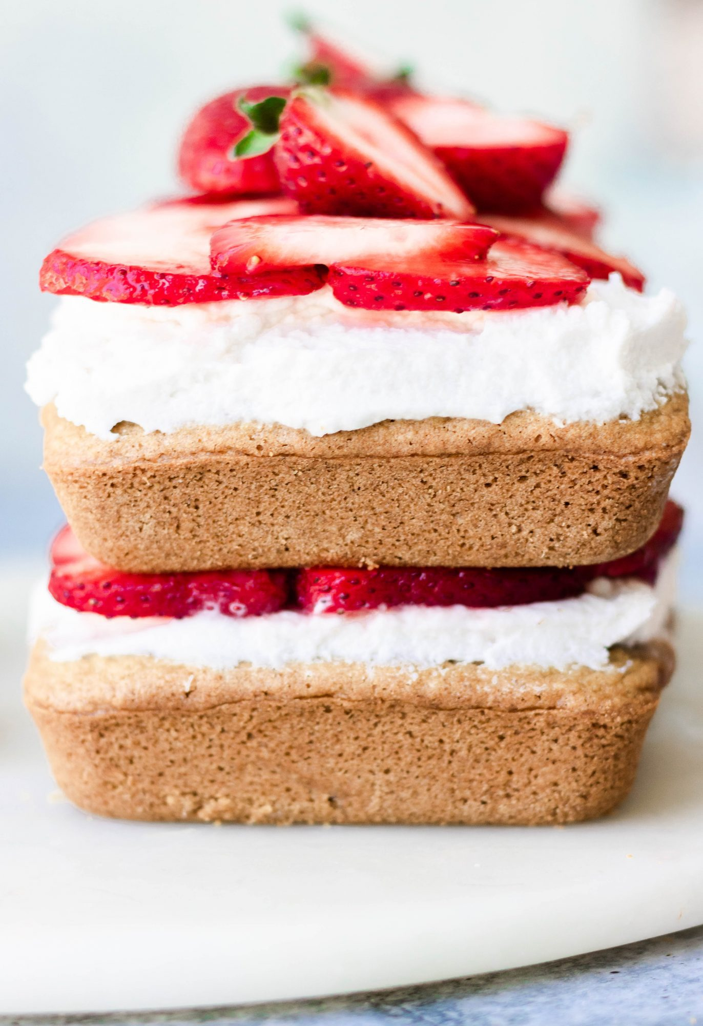 Vegan Gluten-Free Strawberry Shortcake