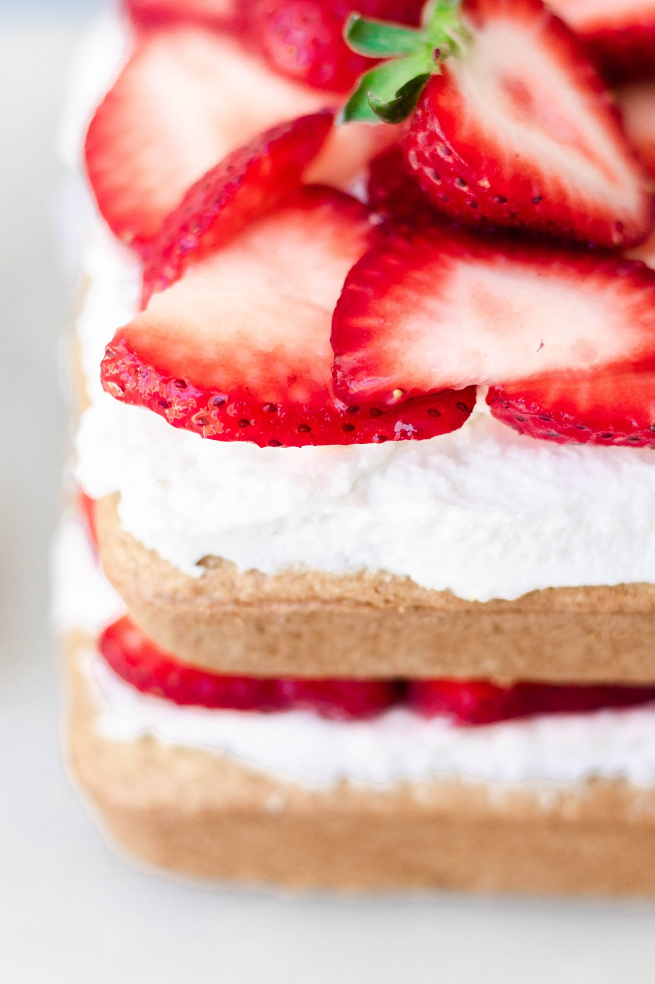 Dairy-Free Strawberry Shortcake