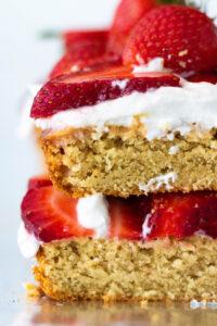 Vegan and Gluten-Free Strawberry Shortcake