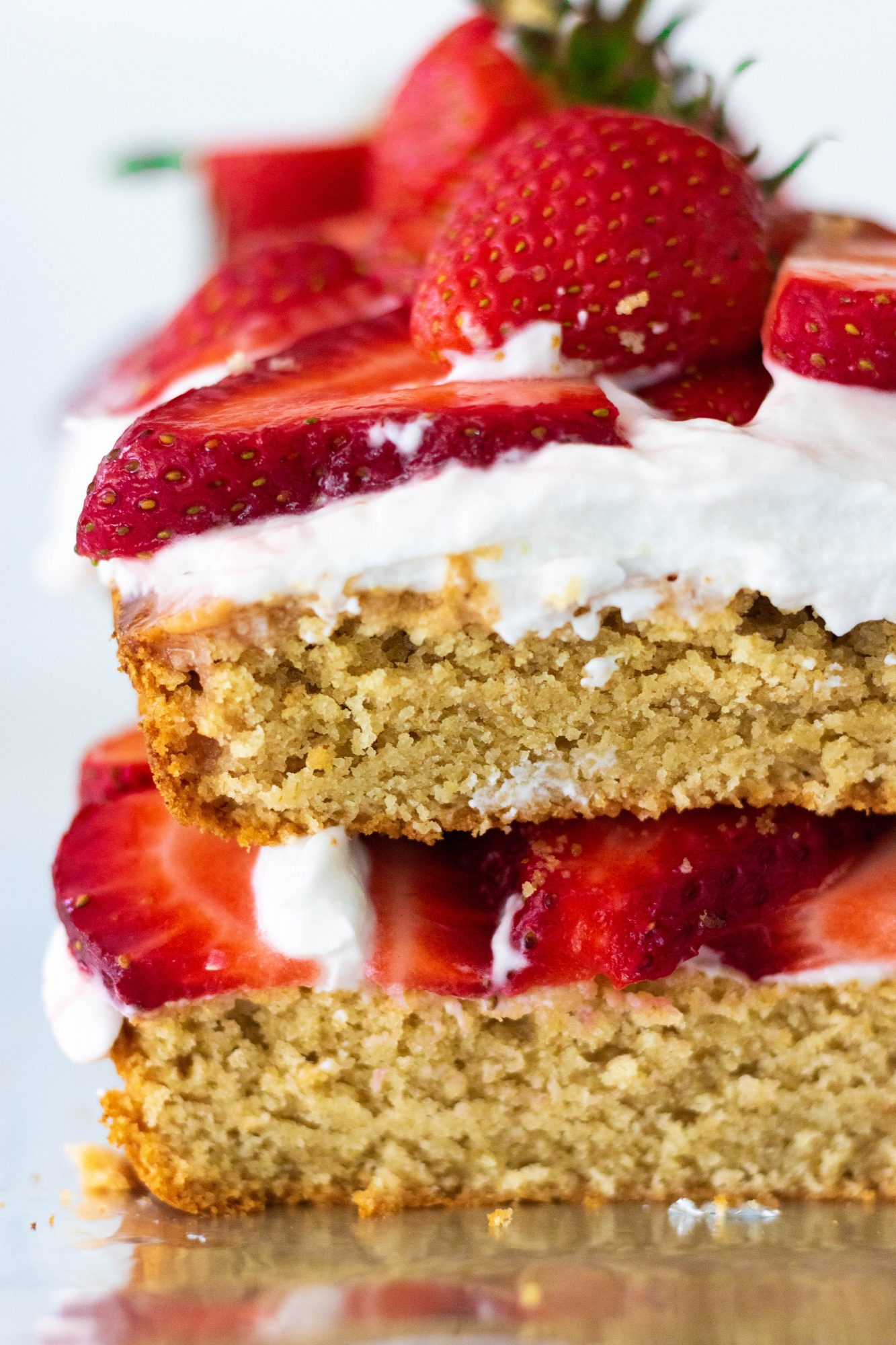 Vegan and Gluten-Free Strawberry Shortcake