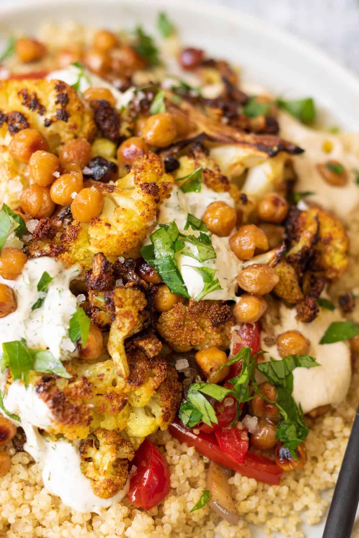 Vegan Shawarma Bowls