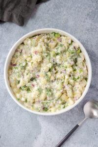 No Mayo Creamy Potato Salad