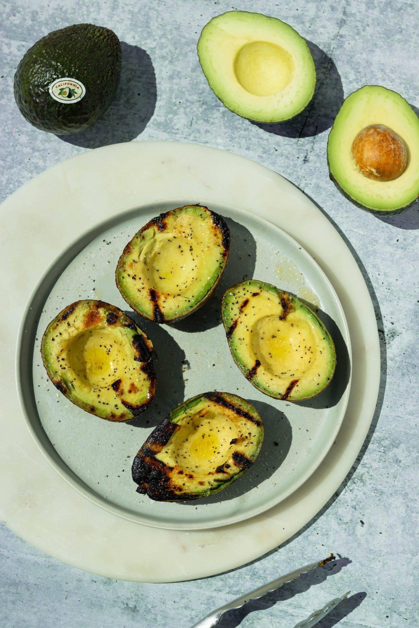 How to Grill Avocado