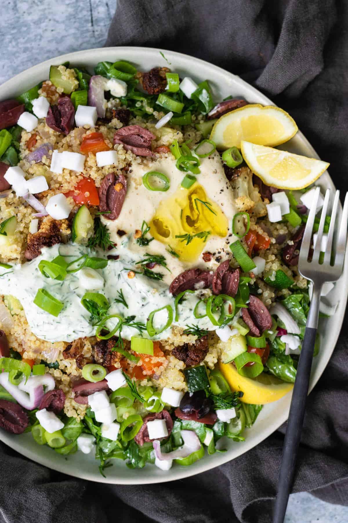 Mediterranean Bowl Recipe