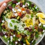 Vegan Mediterranean Quinoa Bowl