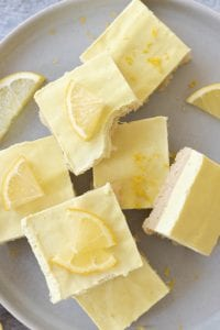 Easy Vegan Lemon Bar Recipe