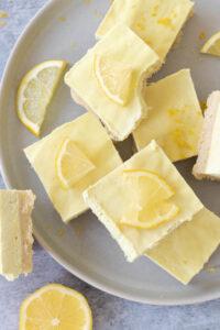 How to Make Vegan Gluten Free Lemon Bars