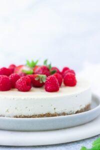Dairy-free cheesecake recipe