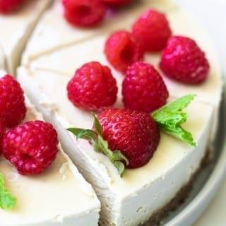 Healthy Vegan Cheesecake Recipe