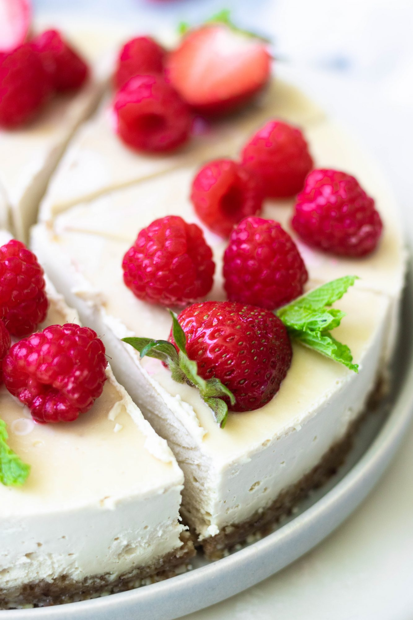 Healthy Vegan Cheesecake Recipe