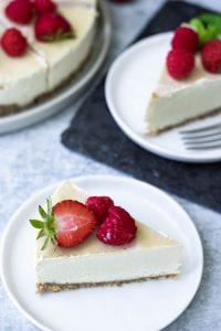 Vegan Gluten-Free Cheesecake Recipe