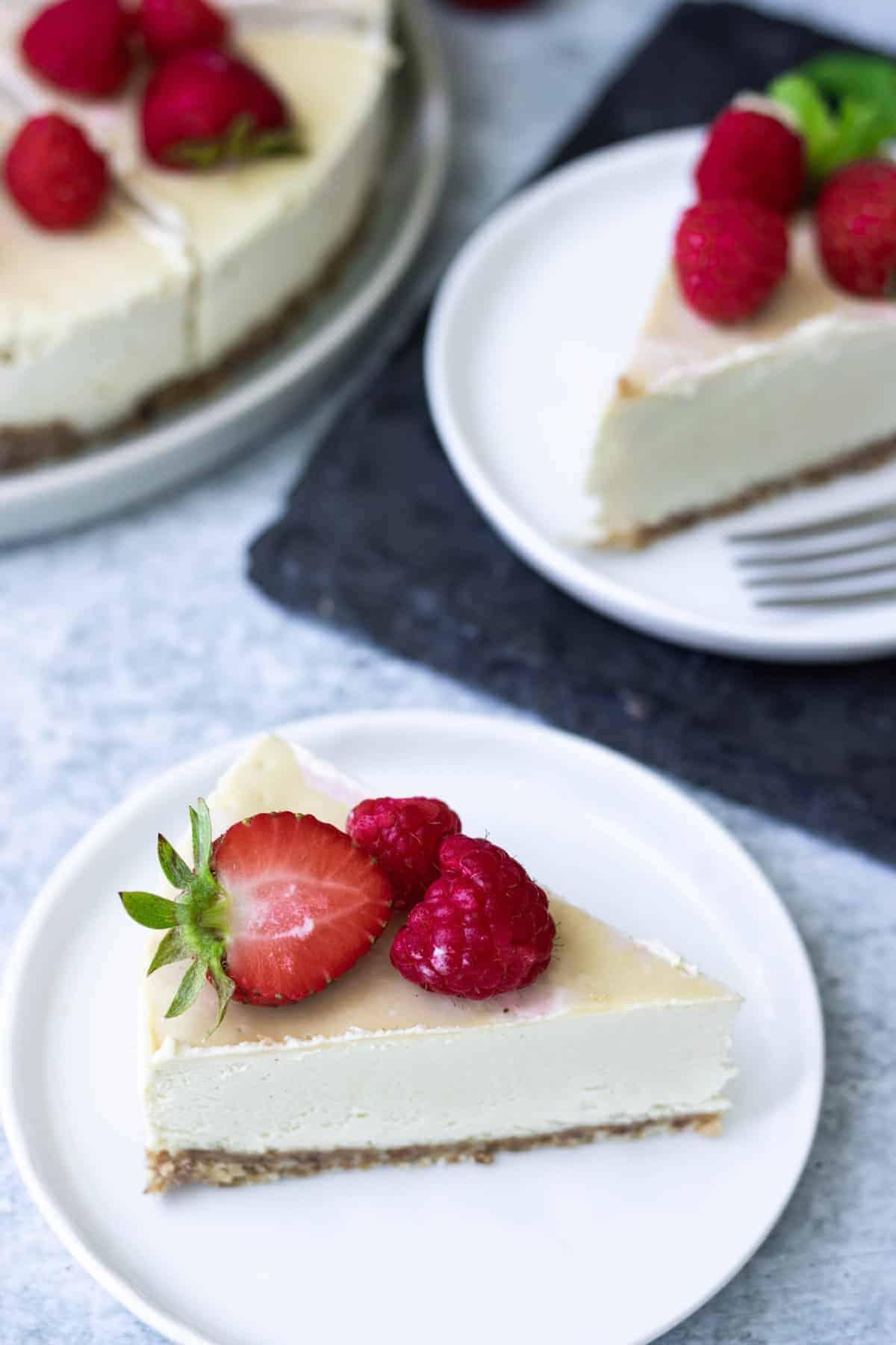 Vegan Gluten-Free Cheesecake Recipe