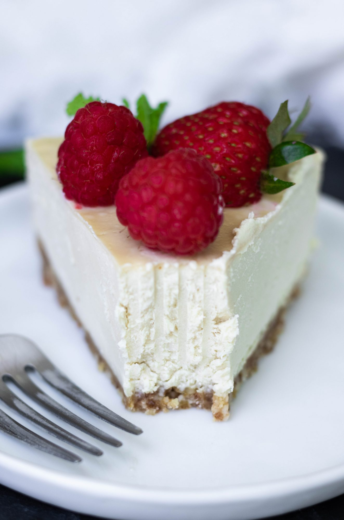 No-Bake Vegan Gluten-Free Cheesecake