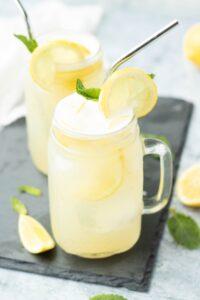 Homemade Naturally Sweetened Lemonade