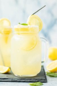 Freshly Squeezed Lemonade Naturally Sweetened