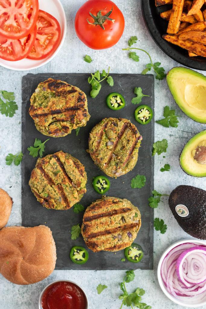 gluten-free veggie burger