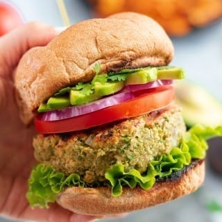 vegan veggie burger