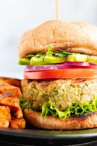 California Avocado Veggie Burger