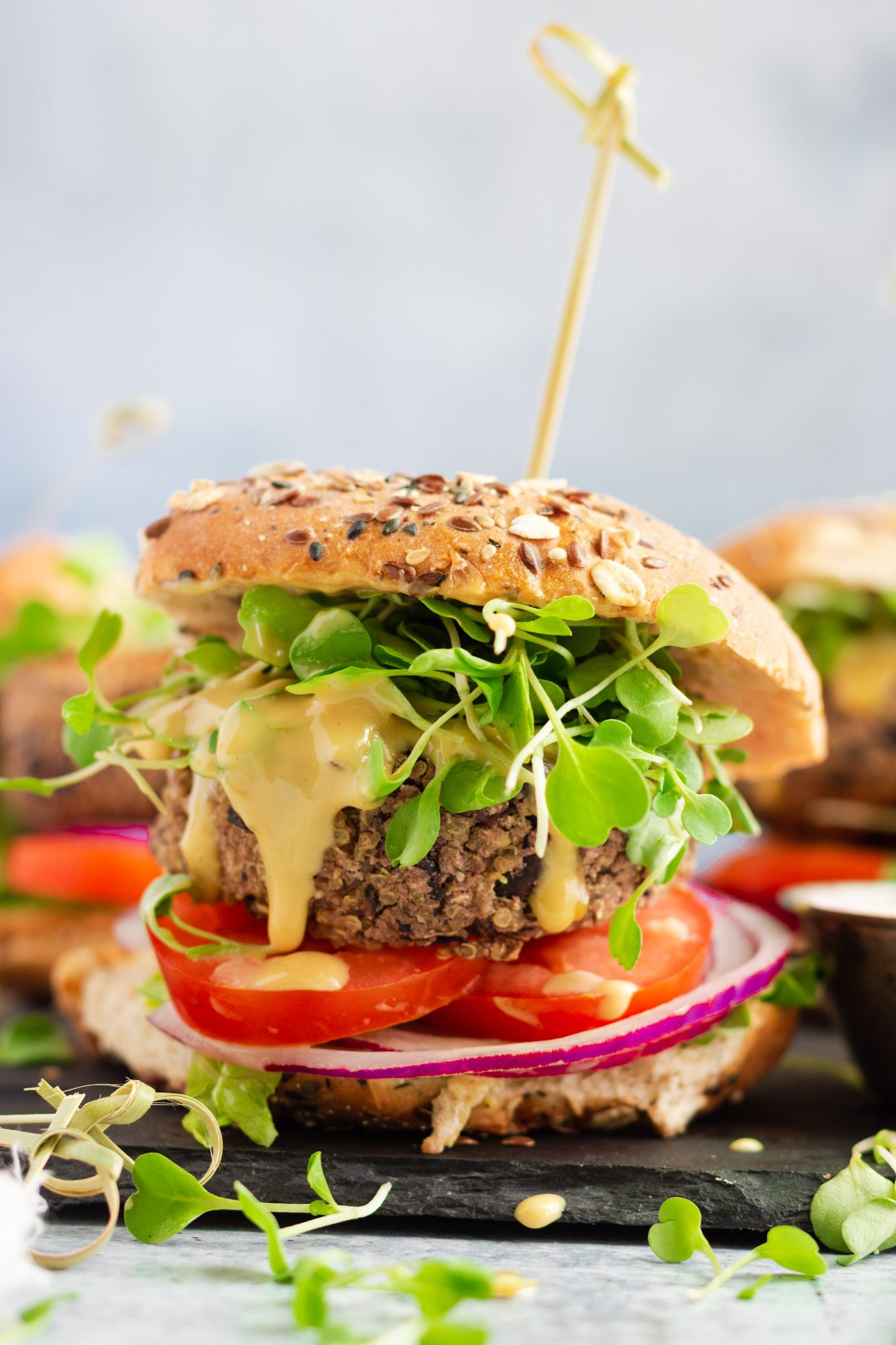 Grillable Veggie Burger Recipe