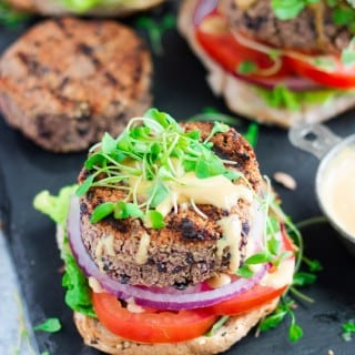 The Best Grillable Veggie Burger Recipe