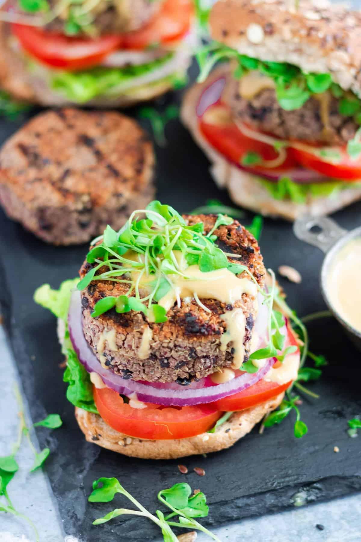 The Best Grillable Veggie Burger Recipe