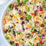 Easy Vegan Mexican Quinoa Salad