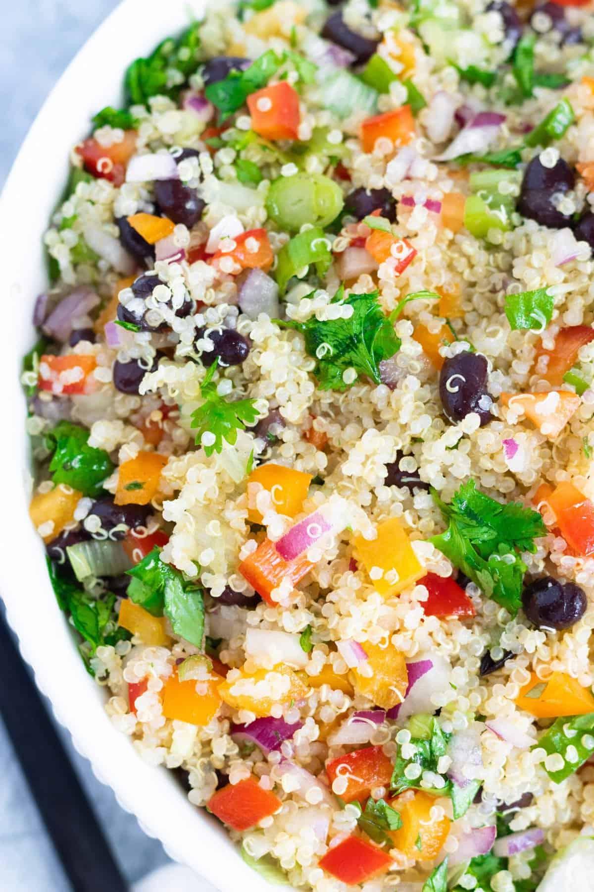 Meal Prep Mexican Quinoa Salad