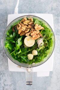Easy Homemade Vegan Pesto with Walnuts