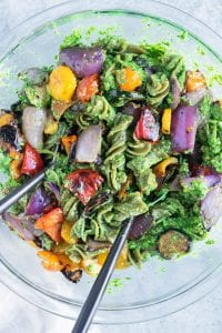 Grilled Summer Veggie Pasta Recipe
