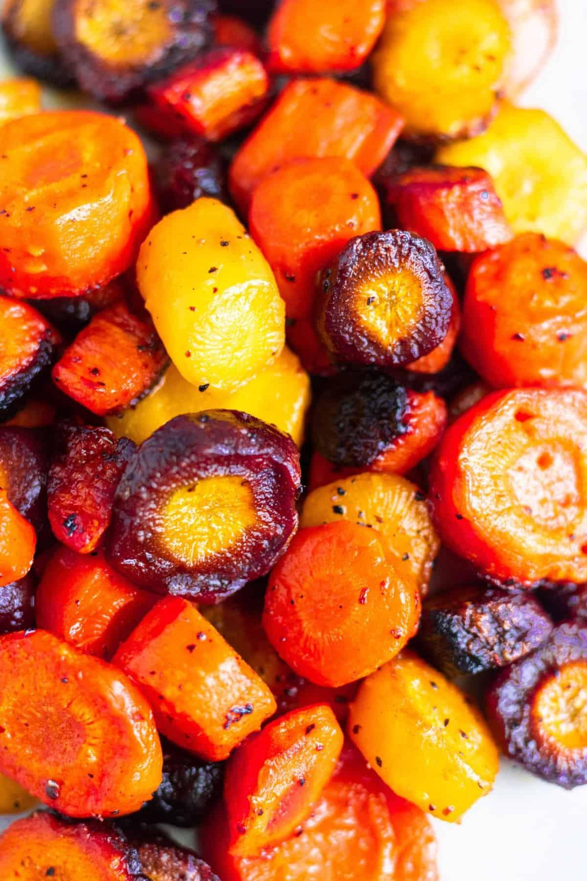 Sauteed Maple Glazed Carrots